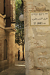 Israel, Jerusalem, the Armenian quarter at the Old City