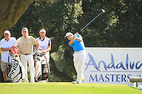 Richie Ramsey (SCO) during the final day of the  Andalucía Masters at Club de Golf Valderrama, Sotogrande, Spain. .Picture Fran Caffrey www.golffile.ie