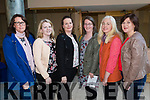 Ceclia Scanlon, Elaine Kirby, Mairead Lynch, Joanne McEvilly, Edel Green and Mary Murphy, pictured at the Health and Wellbeing Evening in the Brandon Hotel, Tralee which was hosted by Lee Strand and the Dairy Council on Thursday, April 6th last.