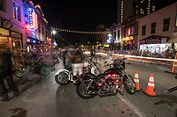 The Republic of Texas Biker Rally on Dirty 6th Street with thousands of spectators, Hogs and Harleys! Exciting event in Austin Texas, Live Music Capital of the World!