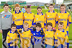 Kilgobnet National School under 12 team Primary Schools Football Finals at Austin Stack park on Thursday, front from left: Paul Cronin, Keelin Cahil, David O'Shea, Denis Sullivan and Glen O'Sullivan. Back Row from left: Gearoid Murphy, Brian Noonan, Johnathon Kissane, Mike Breen, Cormac O'Connor and Cian O'Sullivan.