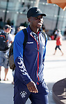 22.06.2019 Rangers arrive in Portugal: Sheyi Ojo