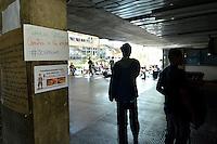 BRASÍLIA, DF, 04.11.2016 – OCUPAÇÃO-UNB – Alunos da Universidade de Brasília durante ocupação da Reitoria da UnB na manhã desta sexta-feira, 04. Os ocupantes protestam contra a PEC 241 e a saída do Governo do presidente Michel Temer. (Foto: Ricardo Botelho/Brazil Photo Press)
