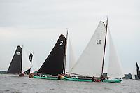 ZEILEN: SLEAT: Sleattemer Mar, 06-08-2014, IFKS Skûtsjesilen, ©foto Martin de Jong