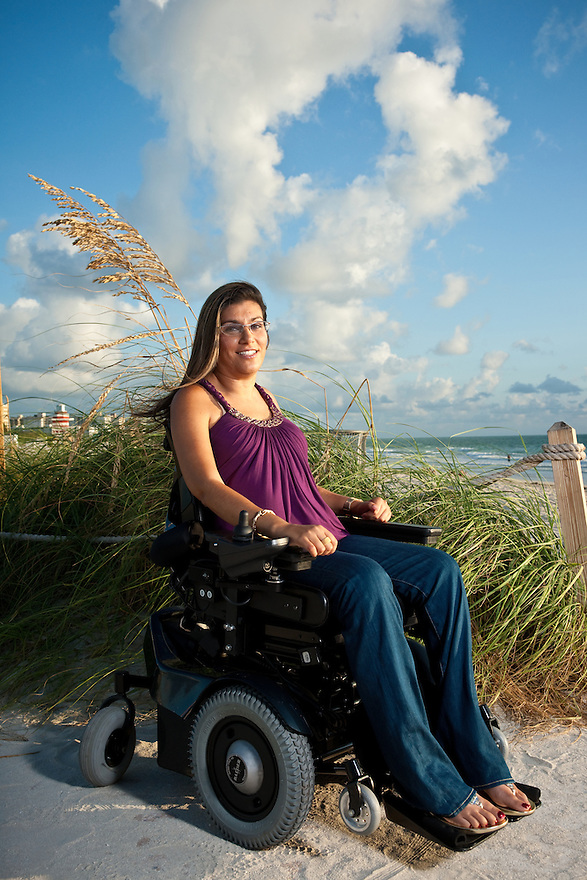 Sabrina Cohen of the Sabrina Cohen Foundation photographed on Miami Beach