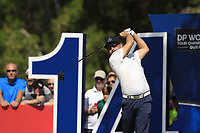 Mikko Korhoenen (FIN) on the 14th tee during the final round of the DP World Tour Championship, Jumeirah Golf Estates, Dubai, United Arab Emirates. 18/11/2018<br /> Picture: Golffile | Fran Caffrey<br /> <br /> <br /> All photo usage must carry mandatory copyright credit (© Golffile | Fran Caffrey)