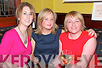 Action Breast Cancer Fundraiser: Attending the Action Breast Cancer fund raising event at Ryan's Bar, Listowel on Friday night were Marisa Riordan, Nuala Keane & Mary Canavan.