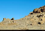 Una Vida Chacoan Great House, Anasazi Hisatsinom Ancestral Pueblo Site, Chaco Culture National Historical Park, Chaco Canyon, Nageezi, New Mexico