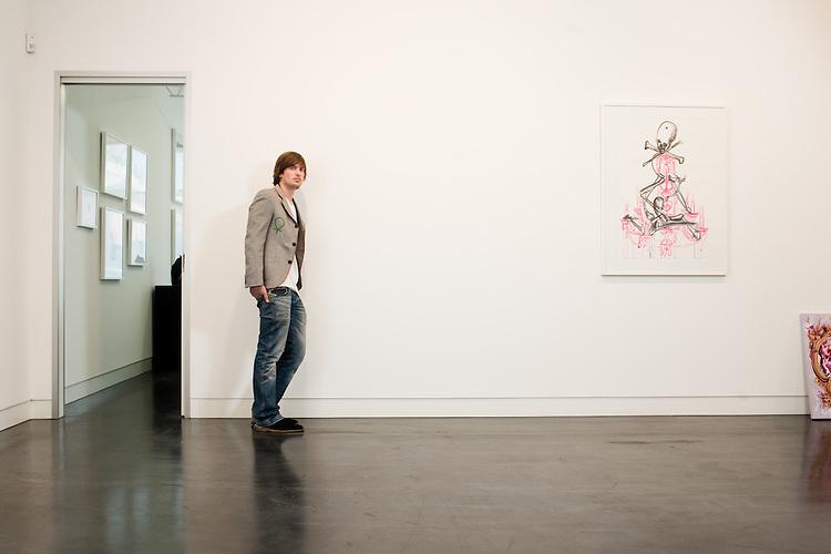 Hugo Michell Art Gallery owner Adelaide South Australia.