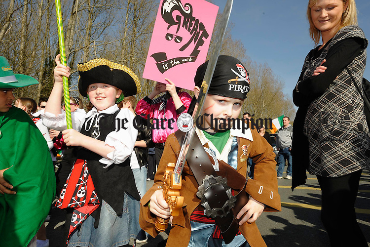 The St Patrick's Day Parade in Shannon. Photograph by John Kelly.
