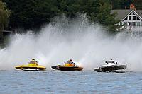 "Brandon Kennedy, H-300 ""Pennzoil"", Patrick Haworth, H-79 ""Bad Influence"", John Shaw, E-54 ""White Trash""    (H350 Hydro) (5 Litre class hydroplane(s)"