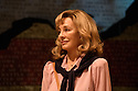 London, UK. 13.07.2016. Park Theatre presents THE TRIAL OF JANE FONDA, by Terry Jastrow, directed by Joe Harmston, with lighting design by Tony Simpson, costume design by Roberto Surace, and set design by Sean Cavanagh. Anne Archer stars as Jane Fonda. Picture shows:  Anne Archer (Jane Fonda). Photograph © Jane Hobson.