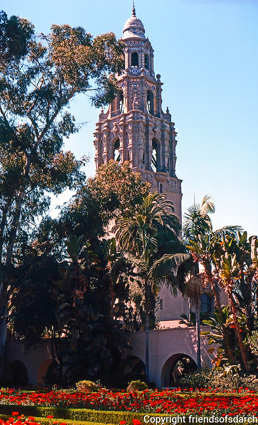 San Diego: Balboa Park, Museum of Man. Photo '78.