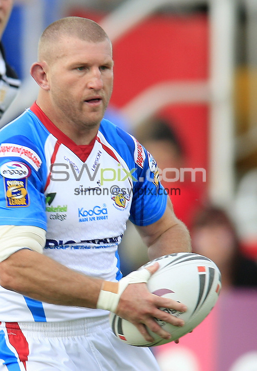 Pix: Chris Mangnall/SWpix.com, Rugby League, Super League. 13/06/09 Wakefield Trinity Wildcats v Hull FC....picture copyright>>Simon Wilkinson>>07811267 706>>....Wakefield's (9) Brad Drew