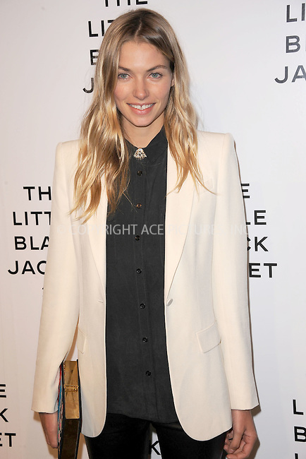 WWW.ACEPIXS.COM . . . . . .June 6, 2012...New York City....Jessica Hart attends Chanel's 'The Little Black Jacket' event at Swiss Institute on June 6, 2012 in New York City ....Please byline: KRISTIN CALLAHAN - ACEPIXS.COM.. . . . . . ..Ace Pictures, Inc: ..tel: (212) 243 8787 or (646) 769 0430..e-mail: info@acepixs.com..web: http://www.acepixs.com .
