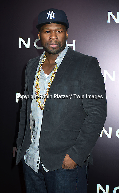 "Curtis ""50 Cent"" Jackson  attend the US Premiere of ""NOAH"" on March 26, 2014 at the Ziegfeld Theatre in New York City."