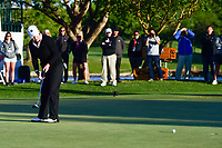 Cristie Kerr (USA) barely misses a putt on 18 during a playoff hole with Haru Nomura (JPN) during round 4 of  the Volunteers of America Texas Shootout Presented by JTBC, at the Las Colinas Country Club in Irving, Texas, USA. 4/30/2017.<br /> Picture: Golffile | Ken Murray<br /> <br /> <br /> All photo usage must carry mandatory copyright credit (&copy; Golffile | Ken Murray)