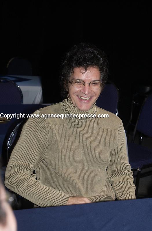 Gino Vanelli press conference