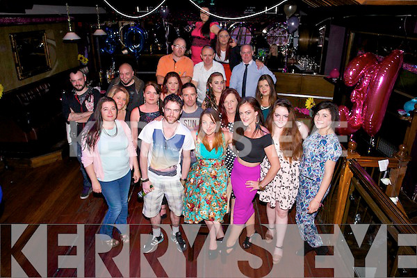 Margaret Mahoney from Ardfert celebrating her 30th Birthday with family and friends at the Night Jar on Saturday