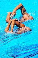 MAY Bill SPENDLOVE Kanako Kitao USA Bronze Medal <br /> Duet Technical Final<br /> Synchronised swimming , Synchro<br /> 17/07/2017 <br /> XVII FINA World Championships Aquatics<br /> City Park - Varosliget Lake<br /> Budapest Hungary <br /> Photo Andrea Staccioli/Deepbluemedia/Insidefoto
