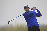 Paraic Connolly (Killeen Castle) on the 1st tee during Round 1 - Matchplay of the North of Ireland Championship at Royal Portrush Golf Club, Portrush, Co. Antrim on Wednesday 11th July 2018.<br /> Picture:  Thos Caffrey / Golffile