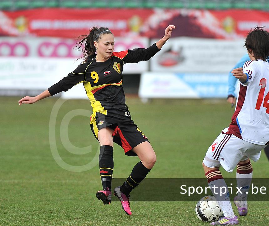 Russia U19 - Belgium U19 :  Jassina Blom .foto DAVID CATRY / Nikonpro.be