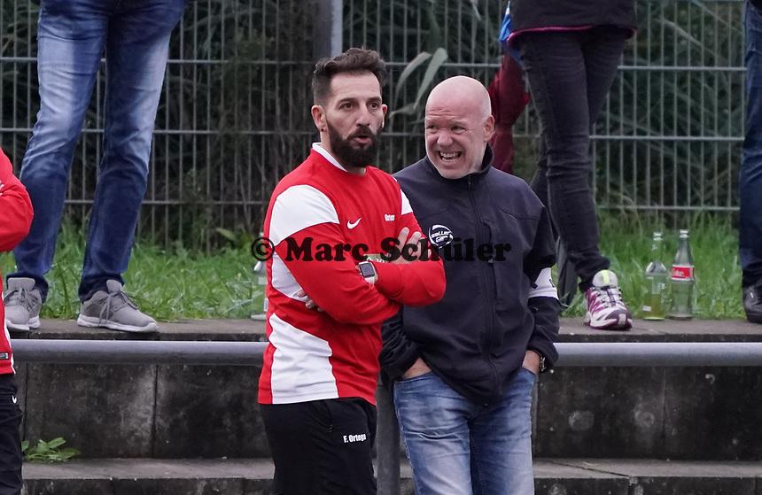 Trainer Francisco Ortega (Büttelborn) - Büttelborn 03.11.2019: SKV Büttelborn vs. SV 07 Nauheim, Gruppenliga Darmstadt