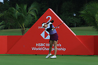 Atthaya Thitikul (AM)(THA) in action on the 2nd during Round 2 of the HSBC Womens Champions 2018 at Sentosa Golf Club on the Friday 2nd March 2018.<br /> Picture:  Thos Caffrey / www.golffile.ie<br /> <br /> All photo usage must carry mandatory copyright credit (&copy; Golffile | Thos Caffrey)