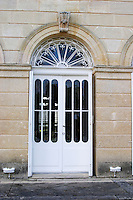 door chateau belgrave haut medoc bordeaux france