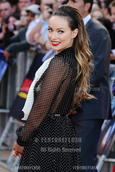 "Olivia Wilde arrives for the premiere of ""Cowboys and Aliens"" at the 02 cineworld cinema, London. 11/08/2011 Picture by: Steve Vas / Featureflash"