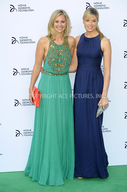 WWW.ACEPIXS.COM<br /> <br /> US Sales Only<br /> <br /> July 8 2013, London<br /> <br /> Holly Branson and Isabella Anstruther-Gough-Calthorpe at the Novak Djokovic Foundation Gala Dinner at The Roundhouse on July 8 2013 in London<br /> <br /> By Line: Famous/ACE Pictures<br /> <br /> <br /> ACE Pictures, Inc.<br /> tel: 646 769 0430<br /> Email: info@acepixs.com<br /> www.acepixs.com