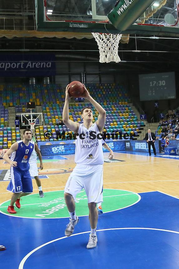 Johannes Voigtmann (Skyliners) - Fraport Skyliners vs. BC Enisey, Viertelfinale EuroChallenge, Fraport Arena Frankfurt