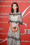 Michelle Lee, Editor In Chief of Allure Magazine arrives at The Fashion Group International's Night of Stars 2017 gala at Cipriani Wall Street on October 26, 2017.