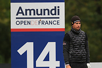 Lucas Herbert (AUS) on the 14th tee during Round 4 of the Amundi Open de France 2019 at Le Golf National, Versailles, France 20/10/2019.<br /> Picture Thos Caffrey / Golffile.ie<br /> <br /> All photo usage must carry mandatory copyright credit (© Golffile | Thos Caffrey)