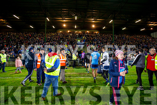 Dublin Players after the Allianz Football League Division 1 Round 3 match between Kerry and Dublin at Austin Stack Park in Tralee, Kerry on Saturday night.