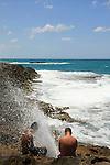 Israel, Carmel coast, the coast at Neve Yam