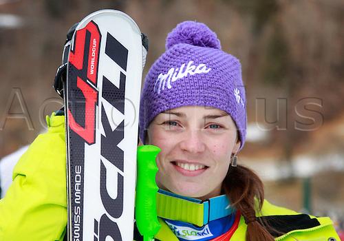 08 01 2012  Ski Alpine FIS WC Bath Kleinkirchheim Super G for women Bath Kleinkirchheim Austria  Picture shows Tina Maze SLO