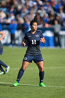 Cary, North Carolina - Sunday December 6, 2015: Raquel Rodriguez (11) of the Penn State Nittany Lions during second half action against the Duke Blue Devils at the 2015 NCAA Women's College Cup at WakeMed Soccer Park.  The Nittany Lions defeated the Blue Devils 1-0.