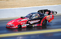 Jul. 30, 2011; Sonoma, CA, USA; NHRA funny car driver Jeff Diehl during qualifying for the Fram Autolite Nationals at Infineon Raceway. Mandatory Credit: Mark J. Rebilas-