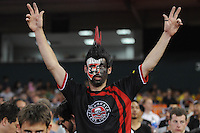 D.C. United fan. D.C. United defeated Toronto FC 3-1 at RFK Stadium, Saturday May 19, 2012.