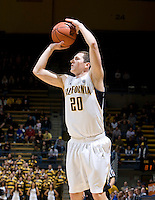 Rob Filley of California shoots the ball during the game against SJSU at Haas Pavilion in Berkeley, California on December 7th, 2011.   California defeated San Jose State, 81-62.