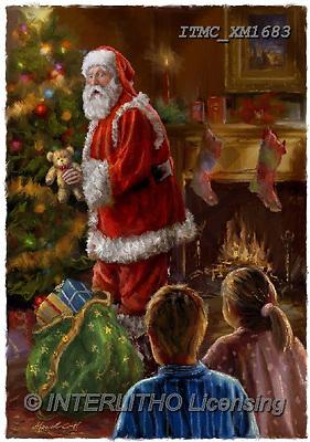 Marcello, CHRISTMAS SANTA, SNOWMAN, WEIHNACHTSMÄNNER, SCHNEEMÄNNER, PAPÁ NOEL, MUÑECOS DE NIEVE, paintings+++++,ITMCXM1683,#X#