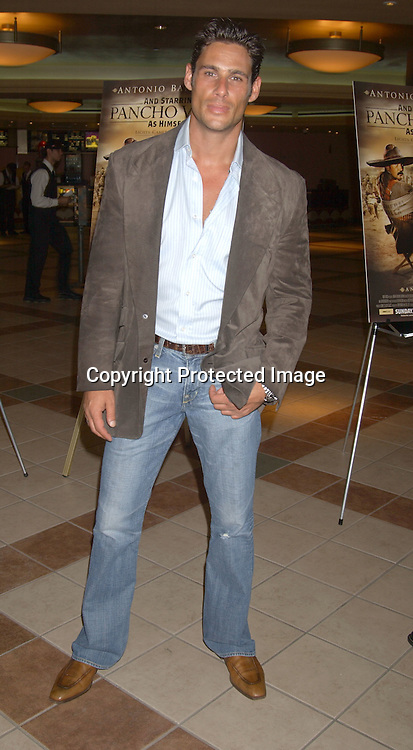 "..Nick Scotti ..at the New York Screening of The HBO film "" And Starring ..Pancho Villa As Himself"" on August 18,2003 at the Loew's 34th Street Theatre.  Photo by Robin Platzer, Twin Images"