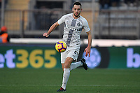 Stefan De Vrij of Internazionale in action during the Serie A 2018/2019 football match between Empoli and Internazionale at stadio Castellani, Empoli, December, 29, 2018 <br /> Foto Andrea Staccioli / Insidefoto