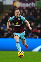 Burnley's Ashley Barnes<br /> <br /> Photographer Ashley Crowden/CameraSport<br /> <br /> The Premier League - Swansea City v Burnley - Saturday 10th February 2018 - Liberty Stadium - Swansea<br /> <br /> World Copyright &copy; 2018 CameraSport. All rights reserved. 43 Linden Ave. Countesthorpe. Leicester. England. LE8 5PG - Tel: +44 (0) 116 277 4147 - admin@camerasport.com - www.camerasport.com