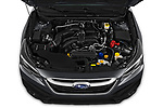 Car Stock 2020 Subaru Outback Premium 5 Door Wagon Engine  high angle detail view