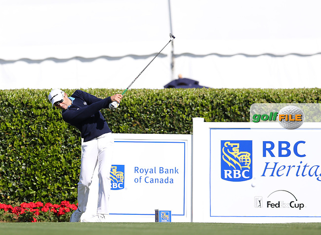 Camilo Vilegas (COL) during the 3rd Round of the RBC Heritage Championship, At The Harbor Town Golf Links, Sea Pines Resort, Hilton Head Island, South Carolina, USA. 16/04/2016.<br /> Picture: Golffile | Mark Davison<br /> <br /> <br /> All photo usage must carry mandatory copyright credit (&copy; Golffile | Mark Davison)