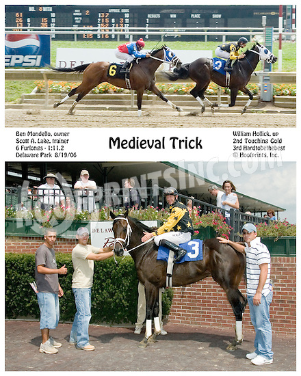 Medieval Trick winning at Delaware Park on 8/19/06