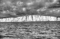 Belle Tout Lighthouse at Beachy Head from the English Channel aboard the yacht Tenia