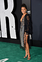 "LOS ANGELES, USA. September 29, 2019: Zazie Beetz at the premiere of ""Joker"" at the TCL Chinese Theatre, Hollywood.<br /> Picture: Paul Smith/Featureflash"
